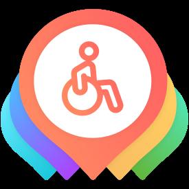 Logomarca Turismo Acessível